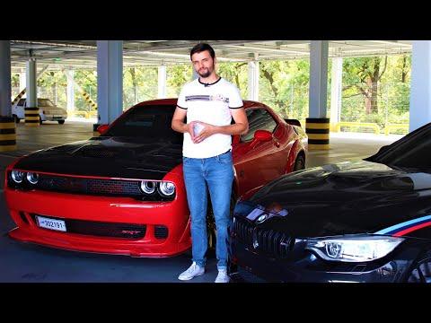 BMW M4 VS Dodge Challenger Hellcat - лучшие из лучших.