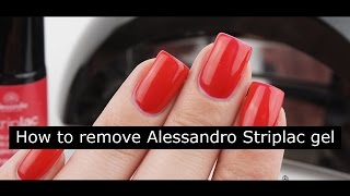Removing Alessandro Striplac | Easy peel off removal