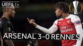ARSENAL 3-0 RENNES #UEL HIGHLIGHTS