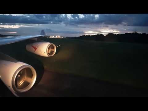 Surinam Airways A340-300 landing Paramaribo