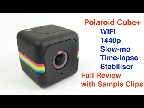 Polaroid Cube+ The Mini Camera with a big performance. Full REVIEW