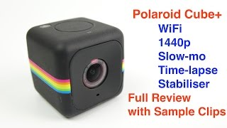 Polaroid Cube+ The Mini Camera with a big performance. Full REVIEW(A full review of the Polaroid Cube *Plus* Mini Camera. You can buy one from Amazon http://amzn.to/219Ssrk (UK) http://amzn.to/21GVxET (US) and eBay ..., 2016-03-03T18:31:49.000Z)