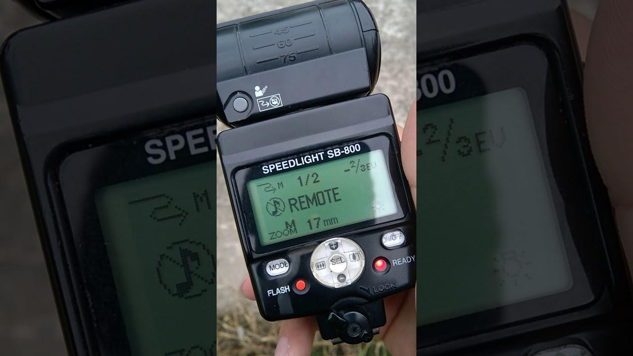 Hng dn setup n flash nikon sb800 youtube hng dn setup n flash nikon sb800 baditri Images