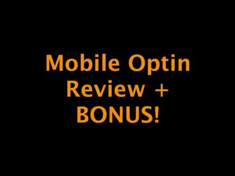 Mobile Optin Review + LIMITED Bonus!: Mobile Optin Review - http://liveness.org/mobile-optin-review Mobile Optin Bonus Link -  What Is Mobile Optin Software?  Anthony Morrison knows how important mobile traffic is and how it's growing at an exponential rate, so he came up with the Mobile Optin software.  Mobile Optin allows users to create completely mobile optimized squeeze pages and marketing pages that are proven to convert within minutes.  Simply pick a done for you template from your niche (all the top niches are covered), change the ad copy, click to add a few advanced features if you like, and viola.  Here's a list of a few features that you can count on :  Done For You Templates - Every niche that's making money is covered including Make Money Online, Weight Loss, Dating, Dog Training, and much more are all covered.  Automated Split Testing - Choose the number of clicks to split between pages and let the software automatically track and find the highest converting page for you.  Retargeting - Stop leaving leads and sales on the table. Start using retargeting to bring those leads and profits right back into your business.  Obviously, after 3 years in development there are a TON more features baked into this software.  Mobile Optin Bonus - HECK YA! I put together an awesome bonus that includes personal coaching and SOOOO much more..  To find out how to get my limited bonus for the Mobile Optin software simply click the link below...  http://liveness.org/mobile-optin-review  mobile optin mobile optin review mobile optin bonus anthony morrison