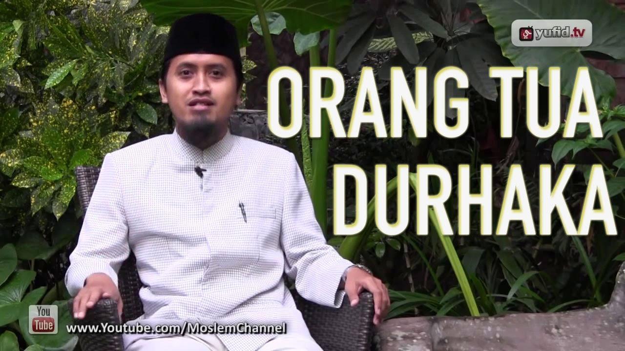Ceramah Agama Islam Jangan Durhaka Kepada Anakmu Ustadz Abdullah