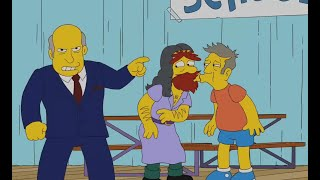 The Simpsons - Principal Skinner acted badly!