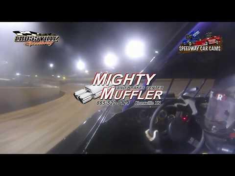 #SP3 Todd Gregory - Sportsman - 9-29-17 Crossville Speedway - In Car Camera