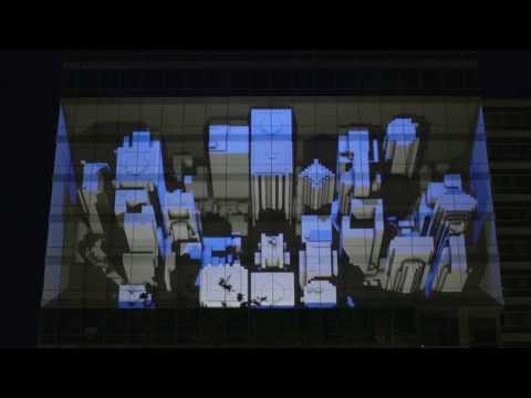 NuFormer, 3D video mapping - Philips, Amsterdam, the Netherlands - November 2013
