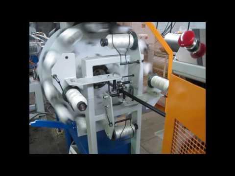 Экструзионная линия ЛШАСН 10-25 для производства шлангов, армированных синтетической нитью
