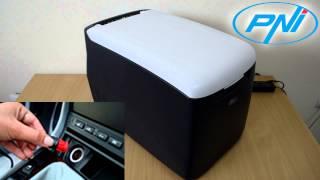 Frigider congelator auto cu compresor PNI Summer C35 alimentare 12V/24V