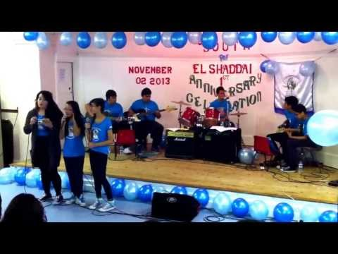 Youth for El Shaddai UK Chapter 1st Anniv. Celeb. Newcastle Chap. Presentation Hosanna in a Highest
