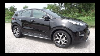 2017 Kia Sportage 2.0 CRDi AWD GT Line Start-Up and Full Vehicle Tour