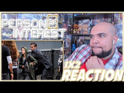 """Person of Interest Reaction Season 1 Episode 2 """"Ghosts"""" 1x2 REACTION!!!"""