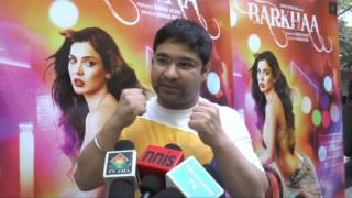 Raashul Tandon interview at Barkhaa theatrical trailer launch