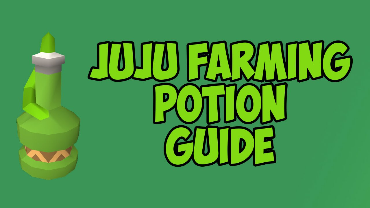 How To Make Juju Farming Potions Youtube