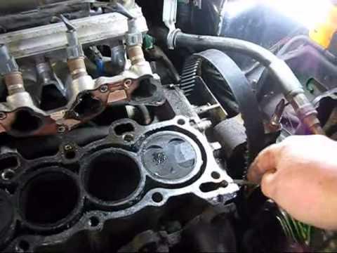 Honda Civic Head Gasket Swap 7   YouTube