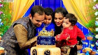 Best 1st Birthday Celebration Of Twin Brothers Avyaan & Shreyaan