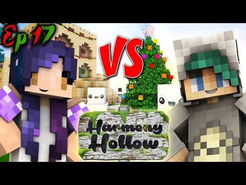 Christmas Decorating WINNER?! | Harmony Hollow Modded SMP - Ep. 17
