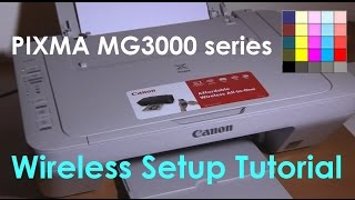 PIXMA MG3050 MG3040 MG3020 E474 series Wifi Setup (part3)