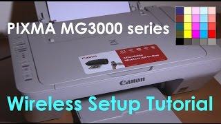 pixma mg3050 mg3040 mg3020 e474 series wifi setup part3