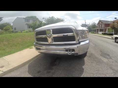 4th Gen Ram Tow Hook And Light Bar Review Youtube