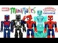 Marvel Ultimate Spider-Man Web-Warriors Minimates Walgreens Exclusive Set Review