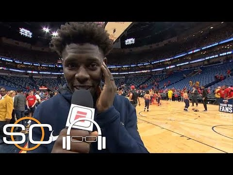 Jrue Holiday: The atmosphere in New Orleans was 'insane' | SC with SVP | ESPN