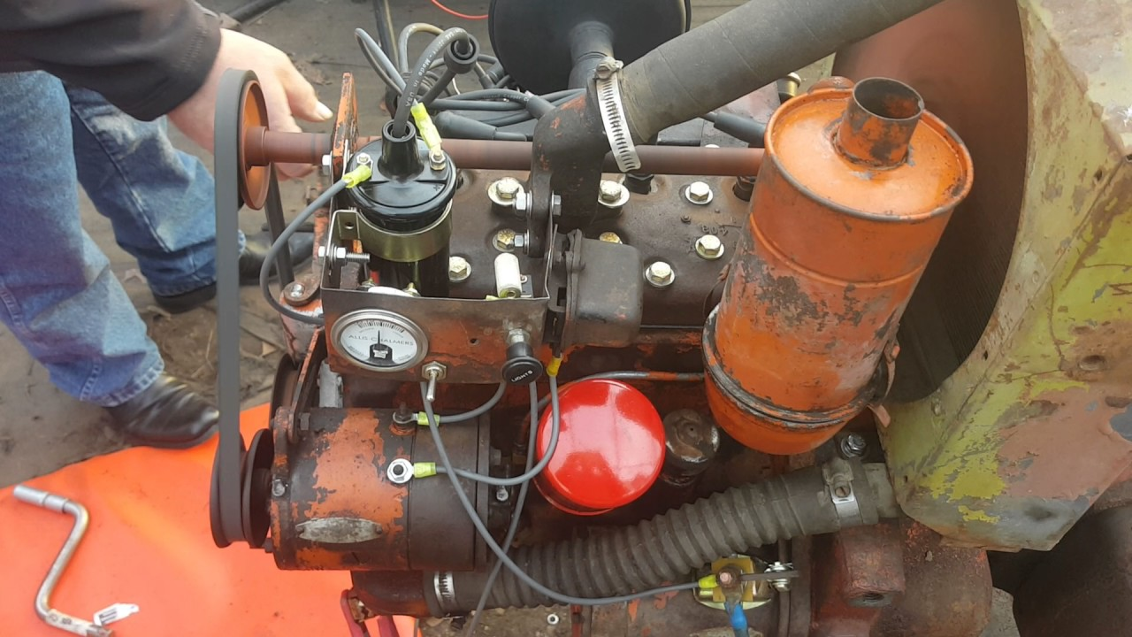 Allis Chalmers G Rebuilt Its Alive Youtube B Wiring Harness