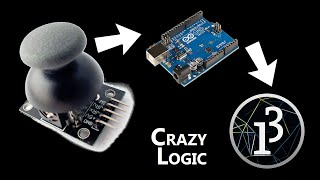 #13 cheap Joystick via serial from Arduino to  Processing on Ubuntu