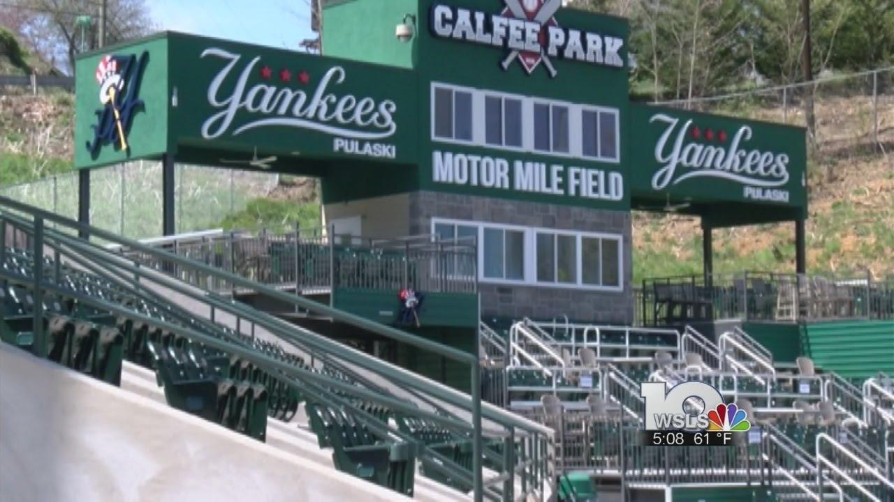 Virginia Tech vs  Radford at Calfee Park - YouTube