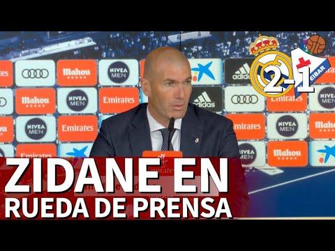 Real Madrid 2 Eibar 1 I RUEDA de PRENSA de ZIDANE I Diario As