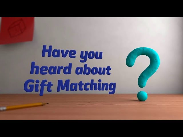 Have you heard about Gift Matching??