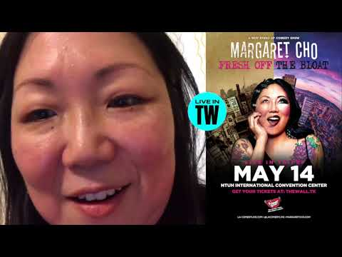 Margaret Cho Greeting - Taiwan