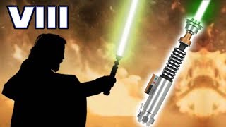 Luke's GREEN Lightsaber REVEALED After His DEATH (CANON) - Star Wars The Last Jedi Explained