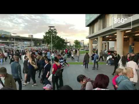 Посетителей эвакуируют из столичного ТЦ «Авиапарк»