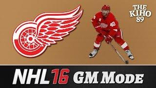 """NHL 16 GM Mode: Detroit Jakso 1 """"Tästä se VIHDOIN lähtee"""""""