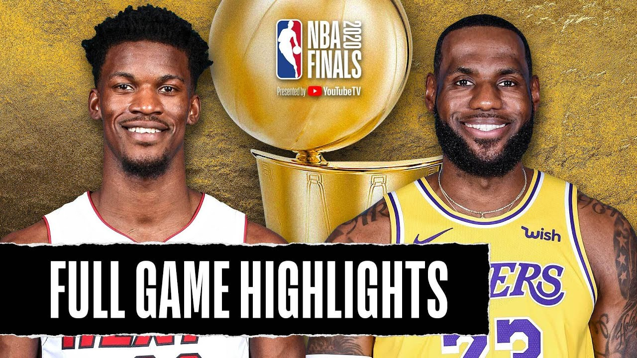 Heat At Lakers Full Game Highlights October 2 2020 Youtube