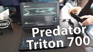 Acer Predator Triton 700 - ультратонкий игровой ноутбук - Keddr.com