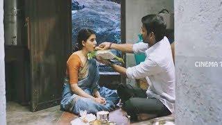 Samantha & Dhanush Blockbuster Movie Ultimate Interesting Emotional Scene    Cinema Theater