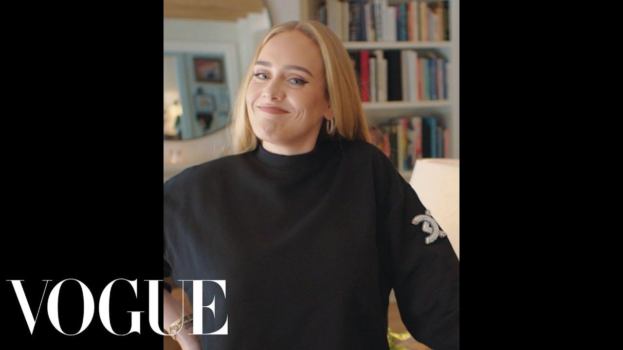Adele Keeps Celine Dion's Gum Framed