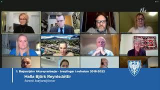 Fundur bæjarstjórnar 19. janúar 2021