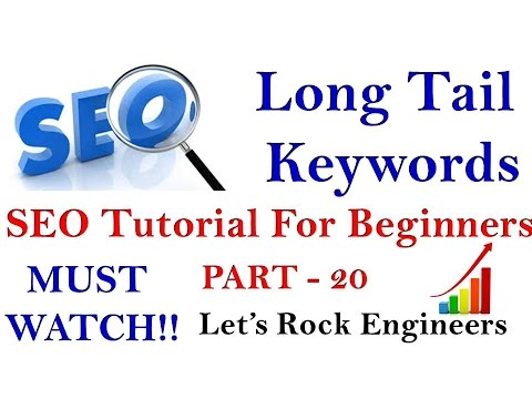 LONG TAIL KEYWORDS - SEO Tutorial For Beginners PART - 20 (EASY)