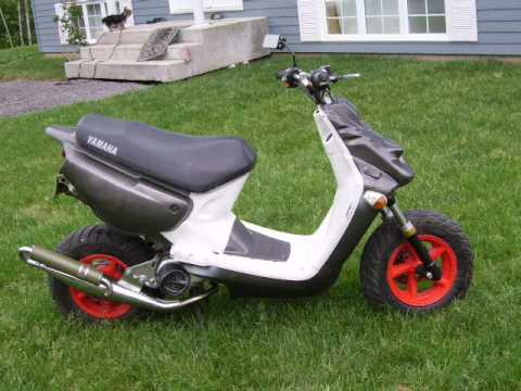 scooter a ventre