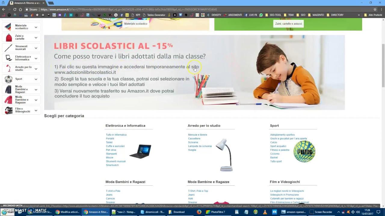 Guida all 39 acquisto di libri scolastici scontati su amazon for Libri scolastici scontati