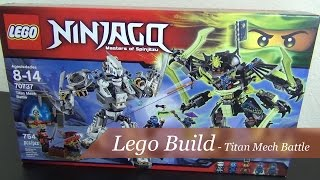 Let's Build - Lego Ninjago Titan Mech Battle Set #70737 - Part 1