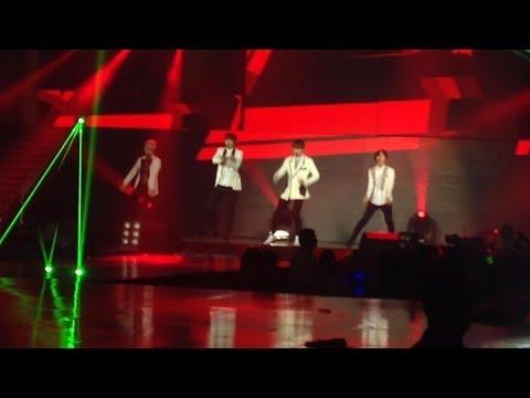 [FANCAM] SHINee - LUCIFER @ Music Bank In Brazil • 2014.06.07
