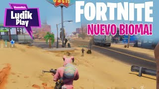 NEW BIOMA! FORTNITE SAVE THE WORLD Spanish news