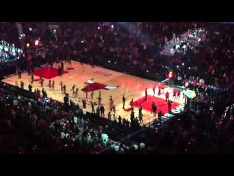 Chicago bulls - season opening against Cleveland 2015/16