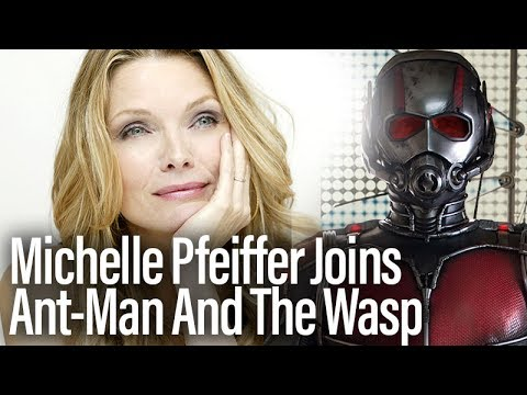 Ant-Man And The Wasp Adds Michelle Pfeiffer As Janet Van Dyne