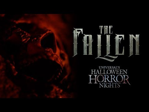 The Fallen House Reveal | Halloween Horror Nights 2017